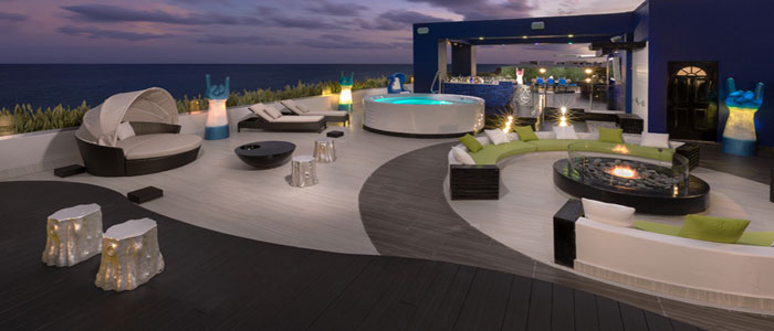 Party like a Rock Star in this sky terrace