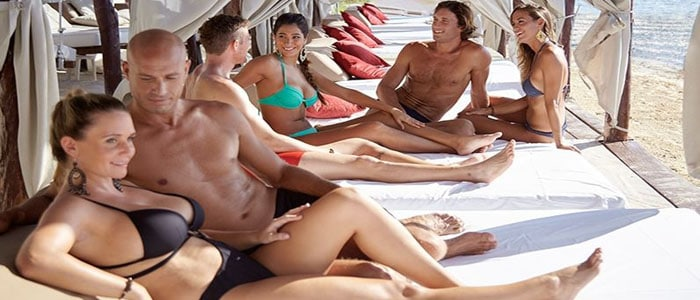 costa nude Beach maya
