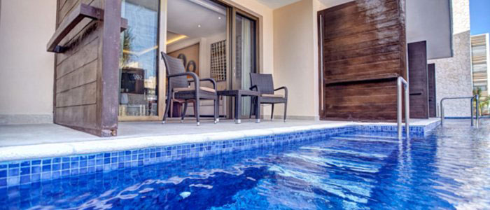 Book your swim out suite with us!!