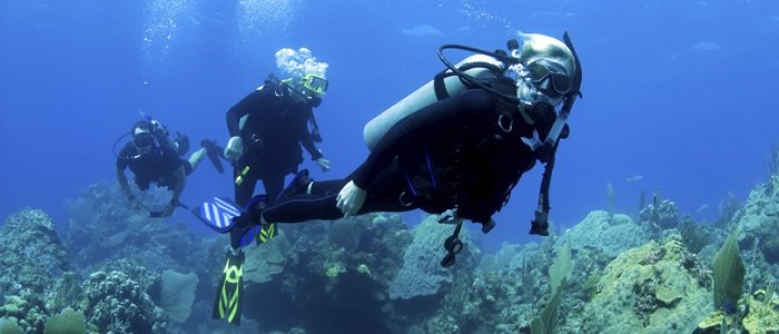 scuba diving and snorkeling are excellent