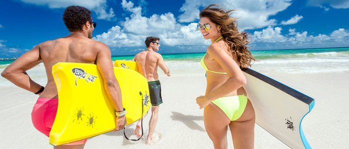 Barbados Resorts include fun water sports