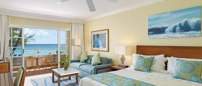 turtle beach barbados ocean view room