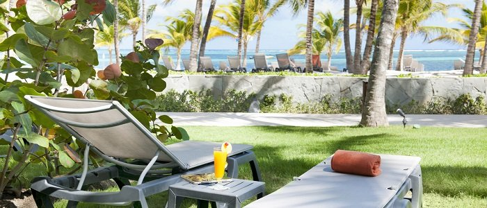 Relax on your own sundeck at Barcelo Bavaro Beach