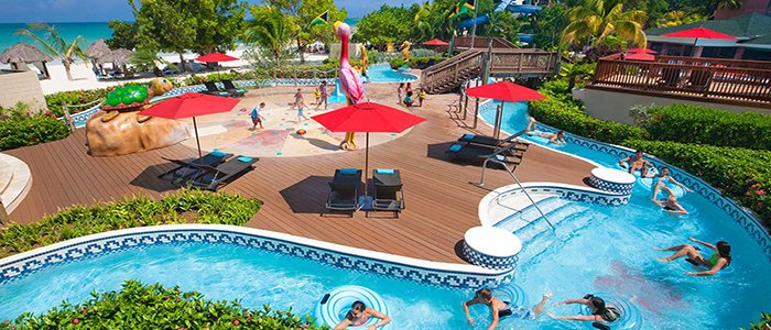 great all inclusive program with lazy river