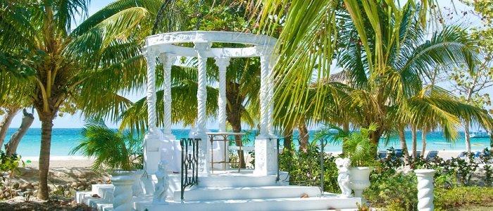 Jamaica Destination Wedding Gazebo