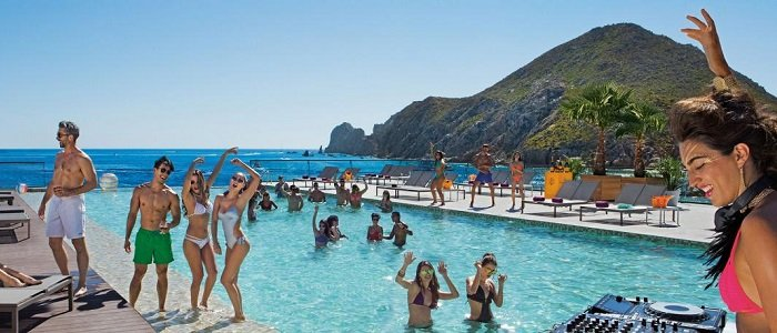 Breathless Cabo San Lucas all inclusive resort