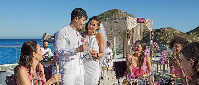 Breathless Cabo San Lucas offers affordable wedding packages