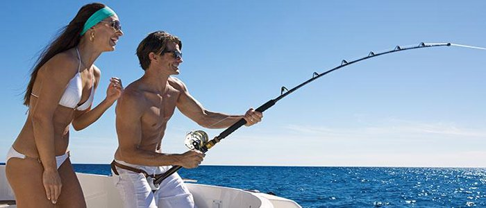 Los Cabos offers water sports and fishing