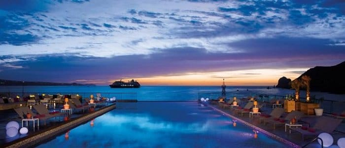 Los Cabos includes nightly entertainment and sunset relaxation