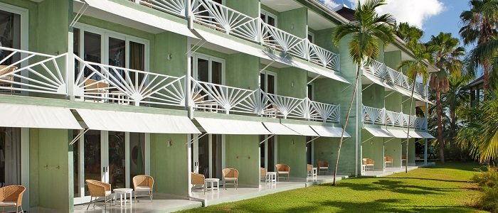 Couples Negril includes private balconies