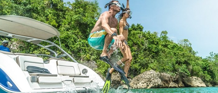 Couples Sans Souci includes water sports like snorkeling