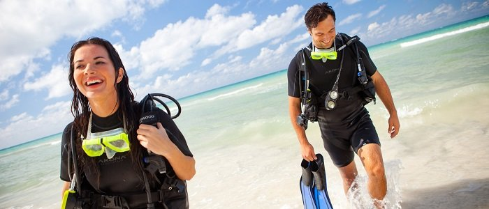 scuba diving and more INCLUDED