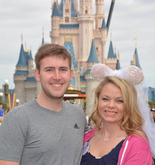 Another happy couple at Disney