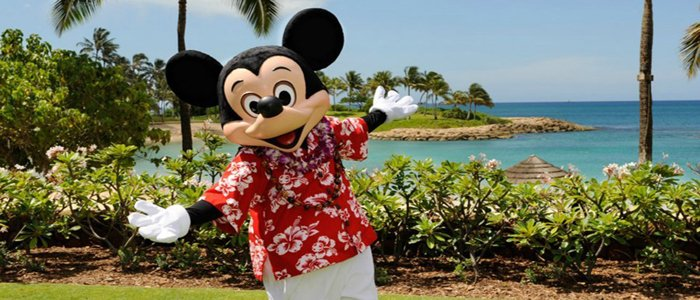 Honeymoon with Disney's Mickey Mouse in Hawaii