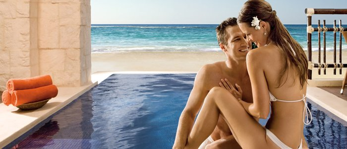 cancun honeymoon at Dreams Riviera