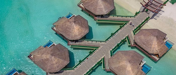 Want a little more? Book an over the water bungalow!!