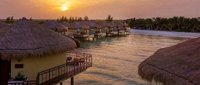 Book your over the water bungalow today at El Dorado Maroma