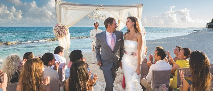 Destination Wedding at El Dorado Resorts