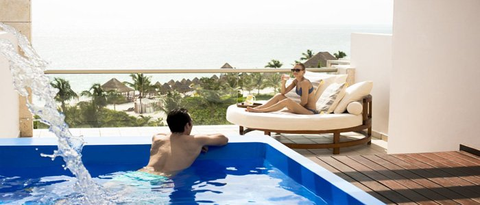 Excellence Playa Mujeres includes private roof top terrace