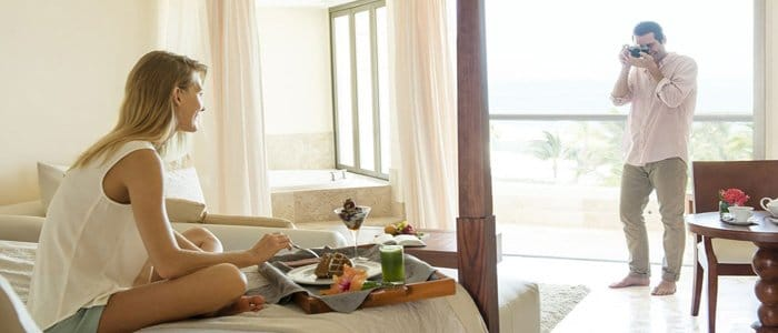 Excellence Playa Mujeres includes honeymoon suites