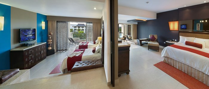 Hard Rock Punta Cana includes spacious family suites