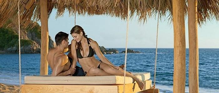 huatulco honeymoon swing at secrets