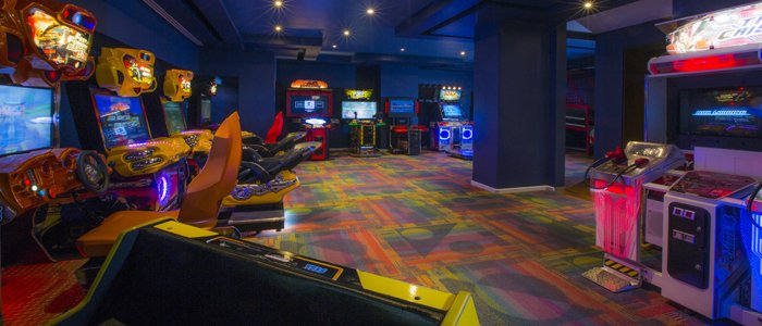 Moon Palace Cancun includes arcade room