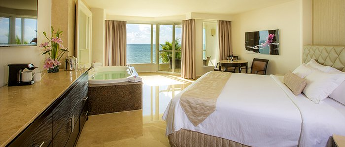 Moon Palace Cancun includes ocean view suites