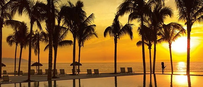 Puerto Vallarta includes romantic getaways and beautiful sunsets