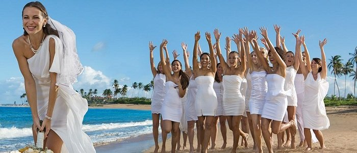 Breathless Punta Cana includes wedding packages