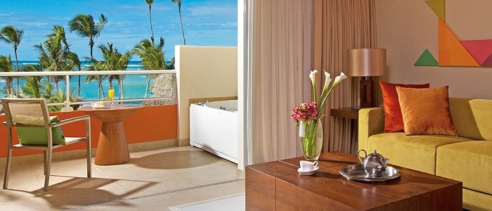 Breathless Punta Cana includes ocean views