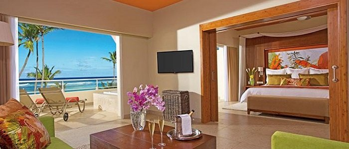 Breathless Punta Cana includes master suites with ocean views