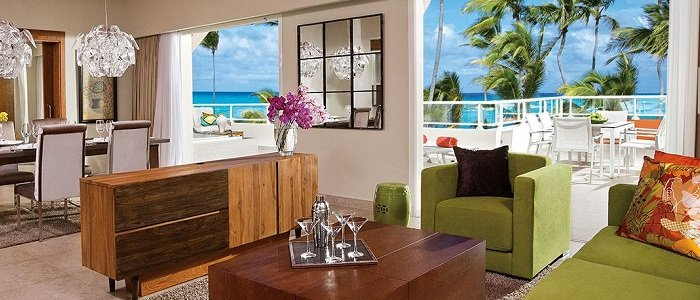 Breathless Punta Cana includes presidential suites with stunning views