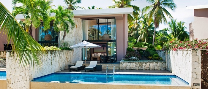private swimming pool suite