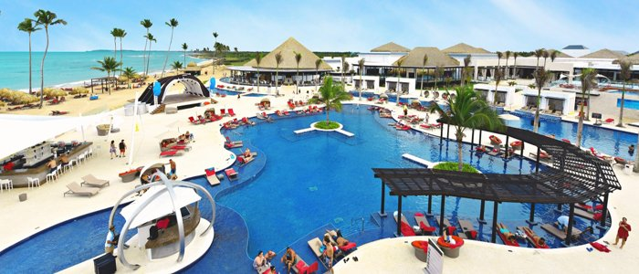 Chic Punta Cana includes pool side service and beautiful beaches
