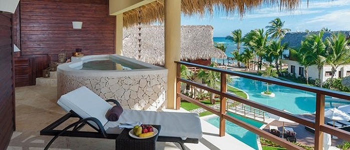 punta cana honeymoon suite