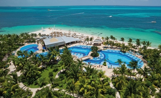 Riu Caribe Pools