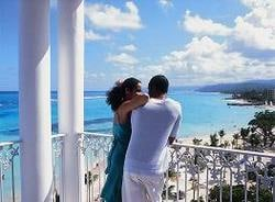 Riu Ocho Rios honeymoon couple