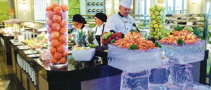 Riu Palace Aruba includes buffet