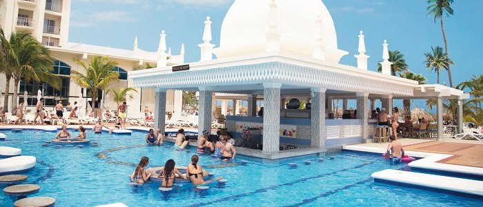 Riu Palace Aruba includes a swim up bar