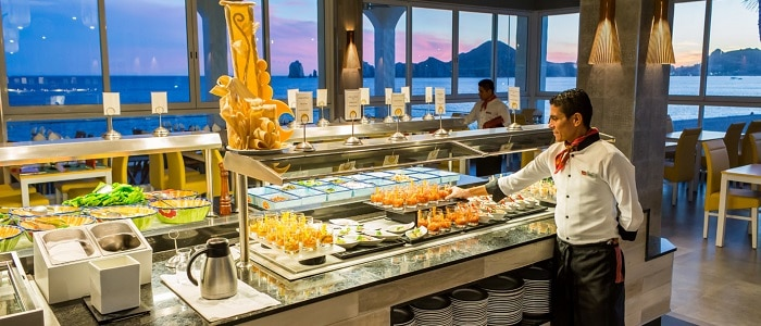 24/7 meals and drinks at riu palace cabo san lucas