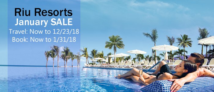 Riu Paradise Island save big sale 2018