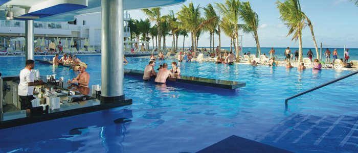 Riu Reggae all inclusive resort includes swim up bar
