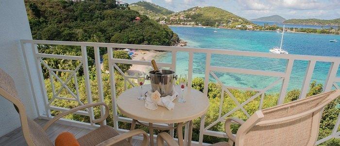 Ocean View from Sugar Bay Resort in St Thomas