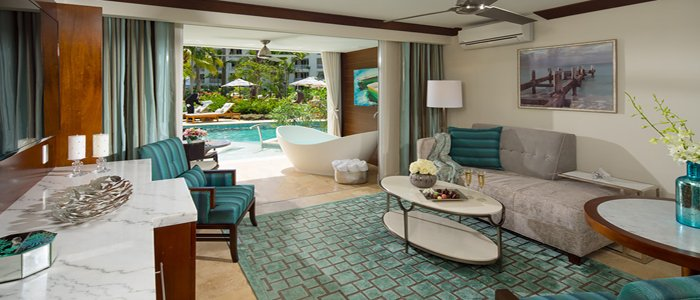 Sandals Barbados includes Butler suites