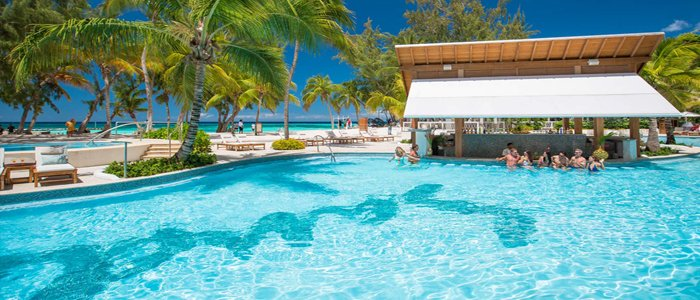 Sandals Barbados includes poolside service