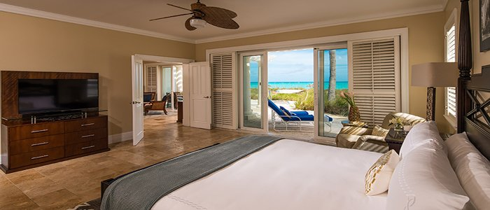 Sandals Emerald Bay includes walk out ocean view suites