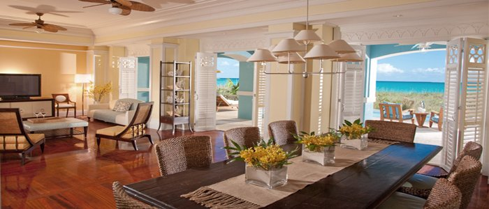 Sandals Emerald Bay offers royal estate suites with stunning views and spacious suites