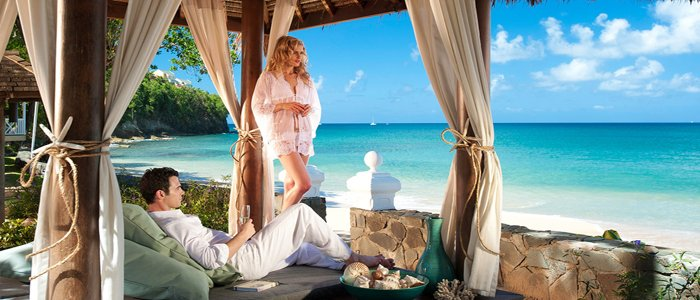Sandals La Toc includes amazing honeymoon packages for two