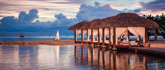 Sandals Negril includes night time romance